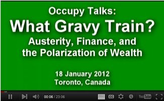 Occupy Talks: What Gravy Train?